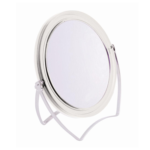 Danielle Dual Sided Easel Mirror - True and 5x with Clear Frame
