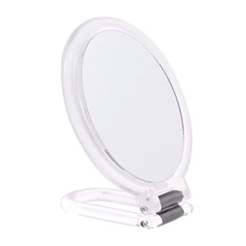 Danielle Hand Mirror with Clear Stand - 0063