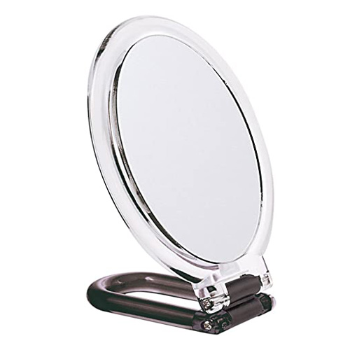 Danielle Hand Mirror with Black Stand - 0064