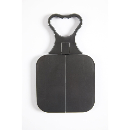 Danielle Folding Travel Mirror 0552 Charcoal