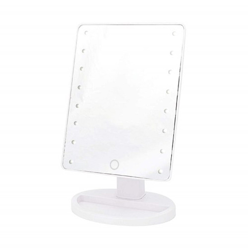 Danielle Hollywood Mirror - 16 LED Touch Dimmer Vanity Mirror - White