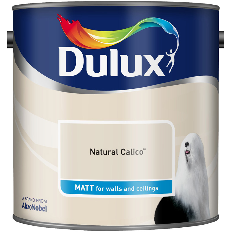 Dulux Matt Natural Calico 2.5lt