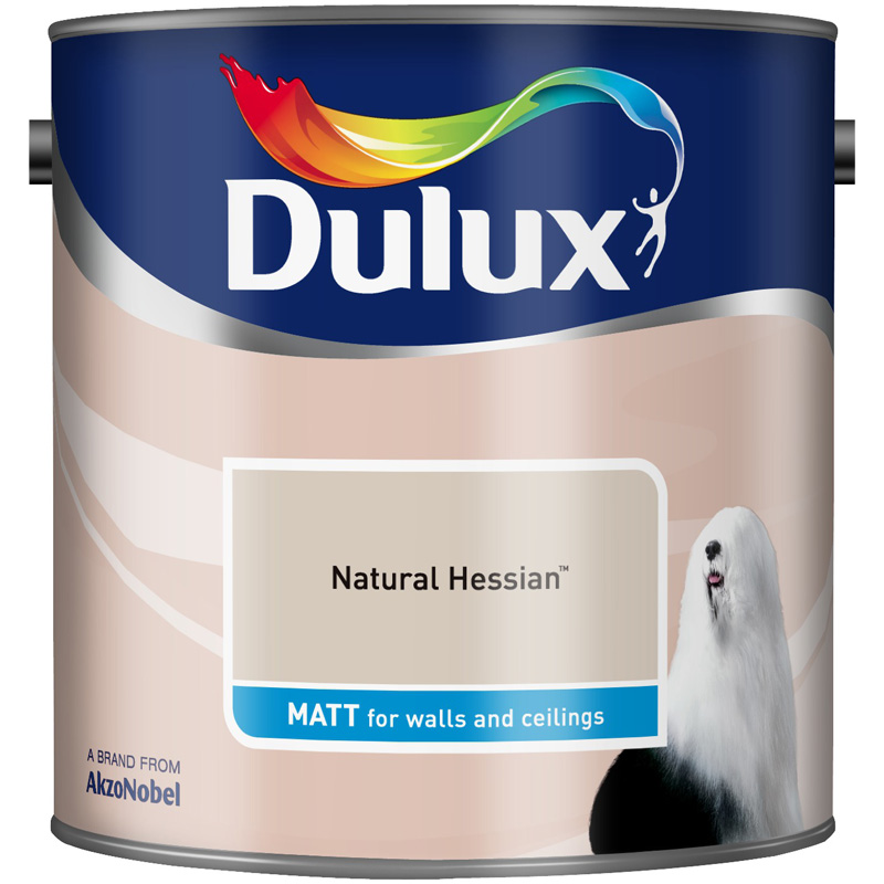 Dulux Matt Natural Hessian 2.5lt