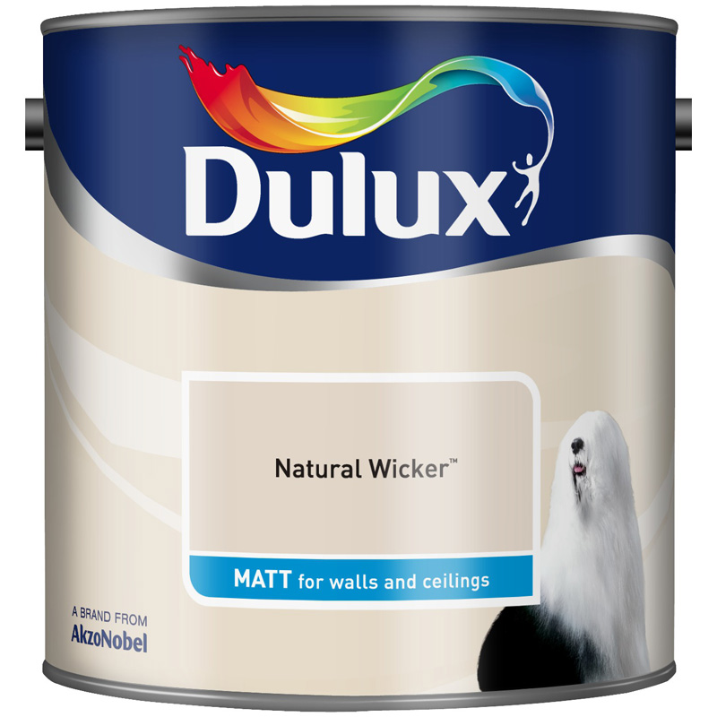 Dulux Matt Natural Wicker 2.5lt