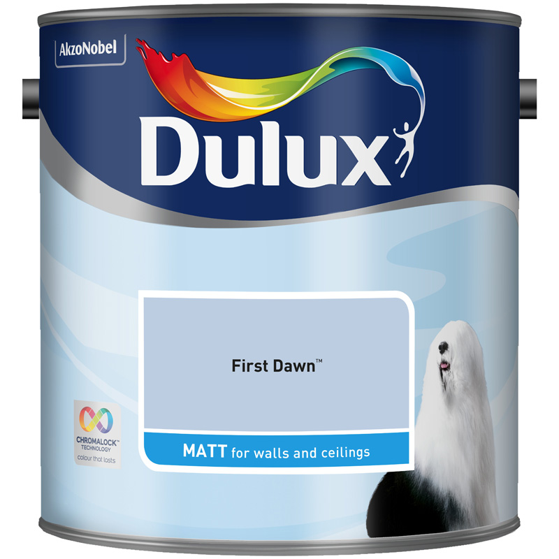 Dulux Matt First Dawn 2.5lt