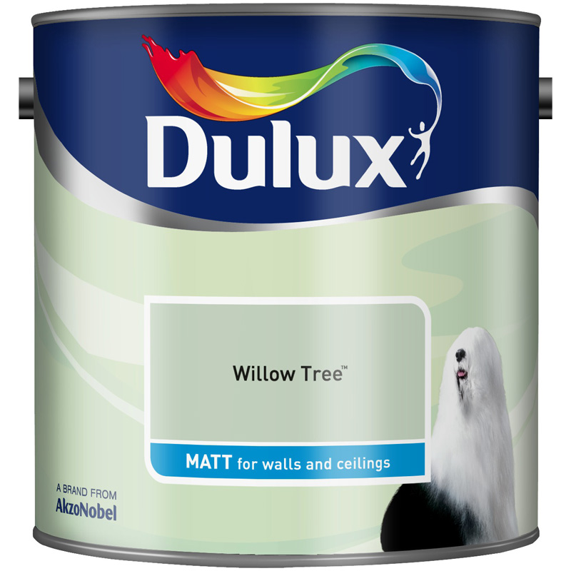 Dulux Matt Willow Tree 2.5lt
