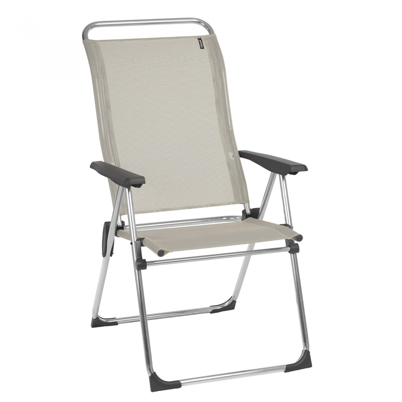 Lafuma Alu Cham Camping Chair, Seigle (LFM2772) 1 Only Ex Display