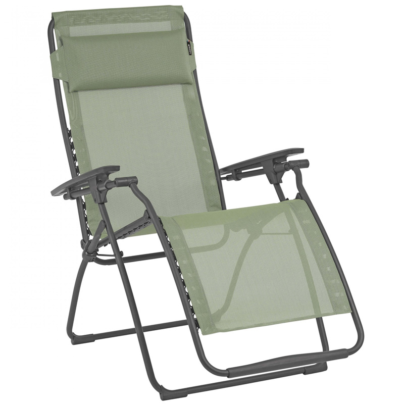 Lafuma Futura Clip Reclining Chair, Moss (LFM3111) - EX DISPLAY