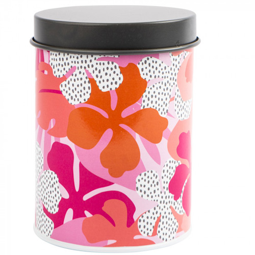 Navigate Summerhouse Storage Tin - Tribal Fusion Floral