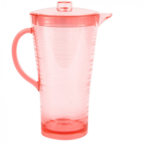 Navigate Summerhouse Polycarbonate Drinks Pitcher - Coral Pink