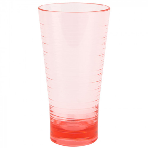Navigate Polycarbonate Highball Tumbler - Pink Coral
