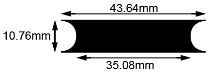 Approximate Pulley Dimensions