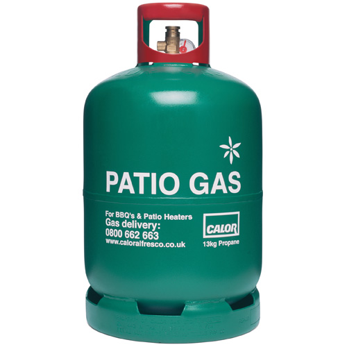13kg Propane Patio Gas Refill (27mm Connection)