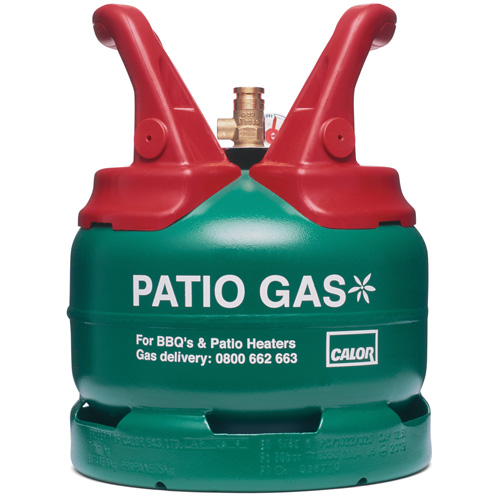 5kg Propane Patio Gas Refill (27mm Connection)