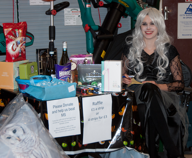 Multiple Sclerosis Society Halloween 2016
