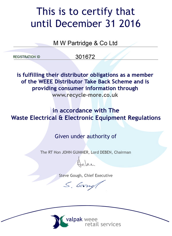 certificate of disposal template - electrical waste retailer and distributor autos post