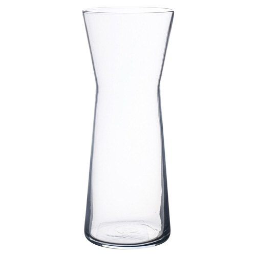 Pasabahce Botanical Waisted Clear Glass Vase - 26cm