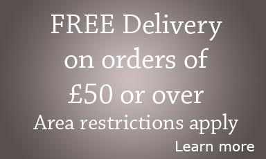 Free Delivery on orders of £75 or over
