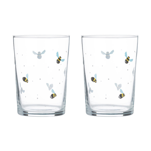 Price and Kensington Glass Tumblers - Pack of 4 x 52cl