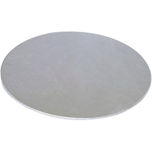 Tala Round Silver Cake Board - 20cm (8in) x 3mm