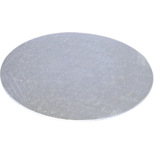 Tala Round Silver Cake Board - 25cm (10in) x 3mm