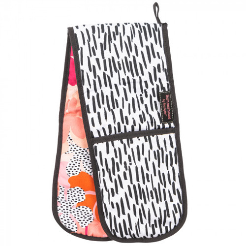 Navigate Summerhouse Double Oven Glove - Tribal Fusion