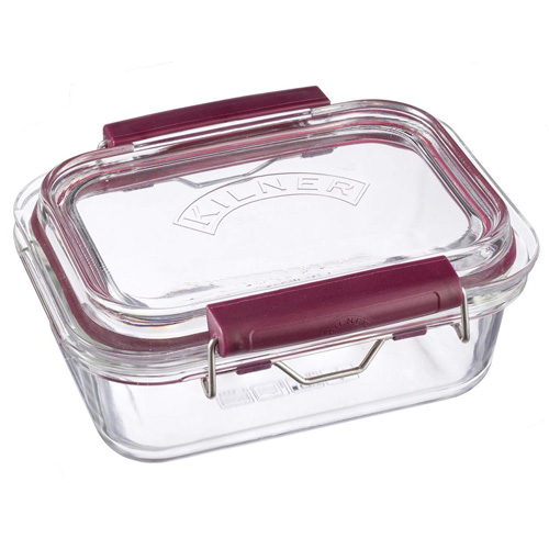 Kilner Glass Fresh Storage Clip and Close Container 600ml