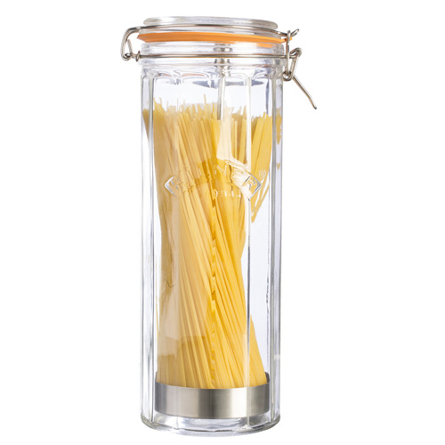 Kilner Glass Spaghetti Jar With Clip-Top Lid - 2.2 Litre