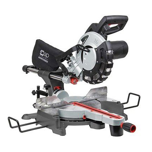SIP 01511 Sliding Compound Mitre Saw (Laser) - 10 inch