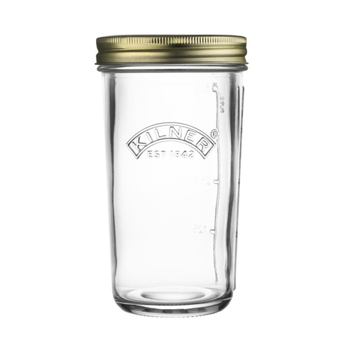 Kilner Wide Mouth Preserving Jar With Screw Top Lid - 0.5L