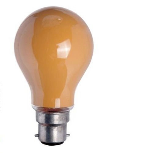 25W 240V BC Coloured Light Bulb - Amber