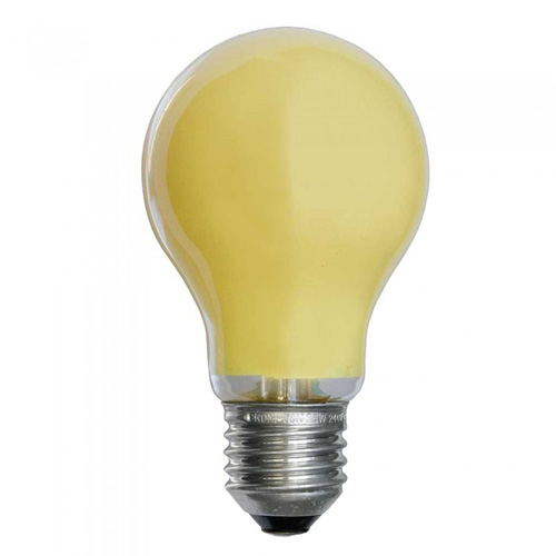 25W 240V ES Coloured Light Bulb - Yellow