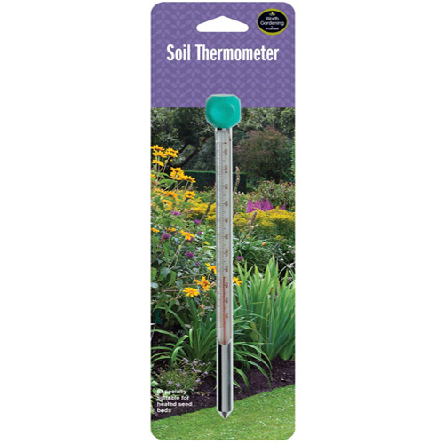 Garland soil thermometer worth gardening at m w for Soil thermometer