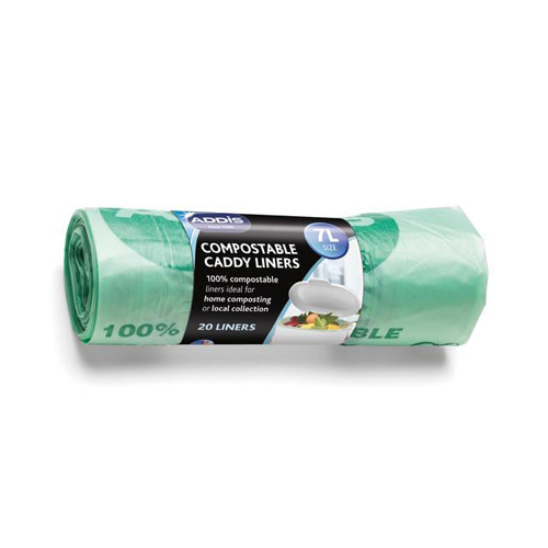 Addis Compost Caddy Liners - Size 7 Litre