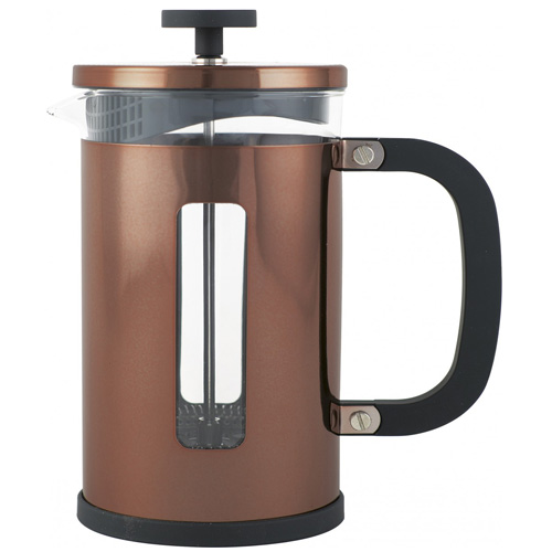 LaCafetiere Pisa 8 Cup Copper Cafetiere