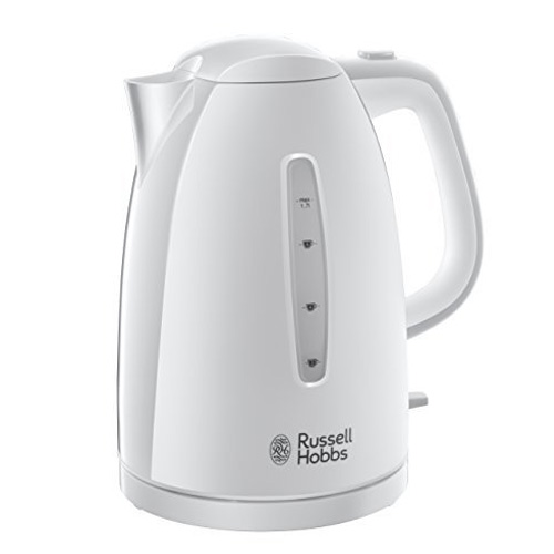 Russell Hobbs Textures Kettle - White Matt and Gloss - 21270