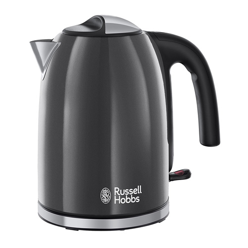 Russell Hobbs Colours Plus Kettle - Storm Grey - 20414
