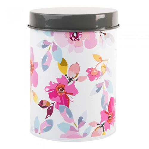 Navigate Summerhouse Storage Tin - Gardenia Floral White