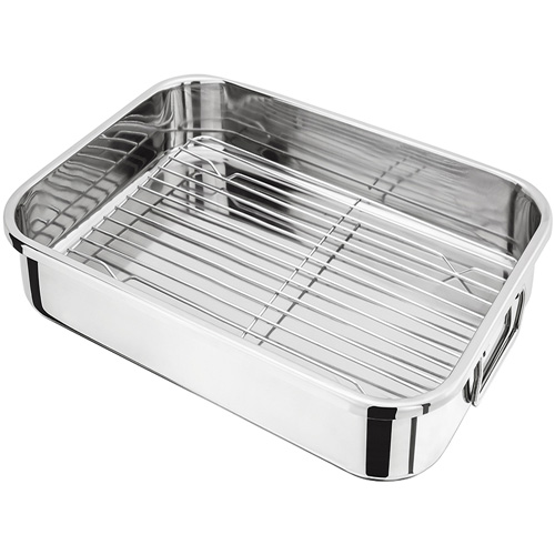 Judge Roasting Pan And Rack - 36 x26 x 6cm