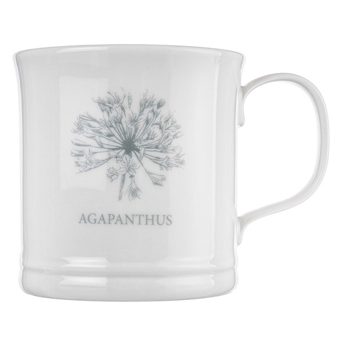 Mary Berry English Garden Collection Agapanthus Mug Boxed