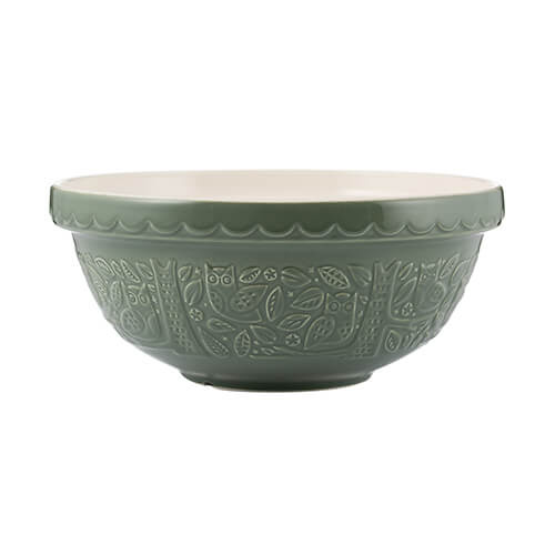 Mason Cash In The Forest Mixing Bowl - Forest Green 28cm