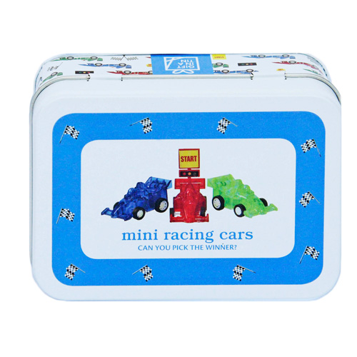 Apples to Pears Gift In A Tin - Mini Racing Cars