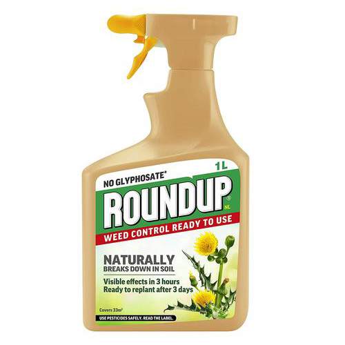 Roundup No Glyphosate Ready to Use Weedkiller - 1 litre