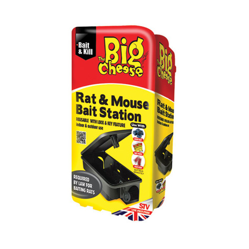 STV Big Cheese Rat and Mouse Killer Bait Station - STV179