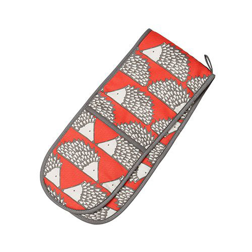 Dexam Scion Living Spike Double Oven Glove - Red Spike
