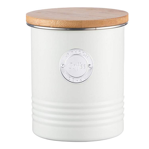 Typhoon Living Coffee Canister - 1 litre Cream