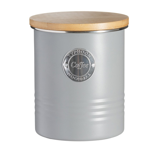 Typhoon Living Coffee Canister - 1 litre Grey