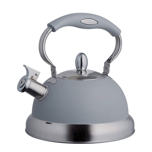 Typhoon Stove Top Whistling Kettle - Grey 2.5 Litres