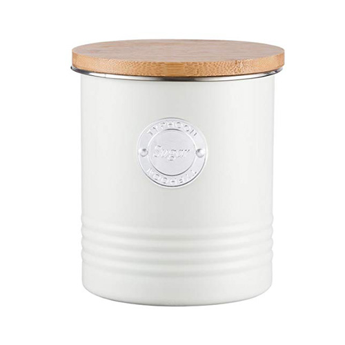 Typhoon Living Sugar Canister - 1 litre Cream
