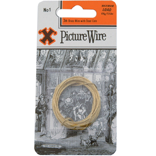 X Picture Wire No 1 - Maximum Load 6kg